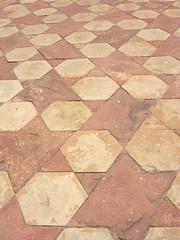 Taj Mahal outdoor flooring
