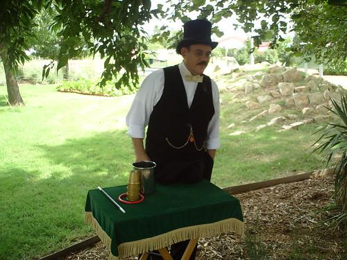 Magician Chris Capstone
