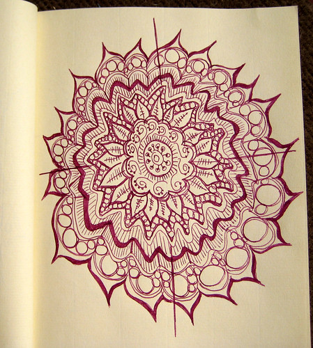Mandala to pass the time