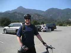 Tim before for our ride. (09/14/2008)