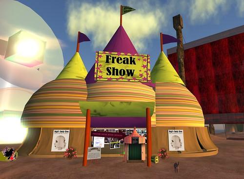 Botgirl's Identity Circus Tent
