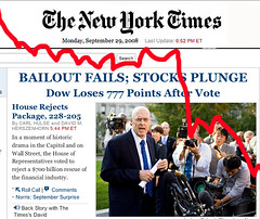 NYTimes: Bailout Fails, Stocks Plunge... Global Economic Crisis 3