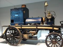1892 - Daimler Motor-Feuerspritze