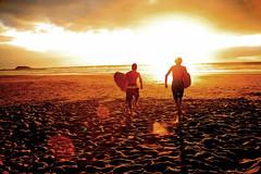 New ad for a beach resort. (marcnunes) Tags: brazil beach sunrise surf resort surfboard canon5d colourartaward