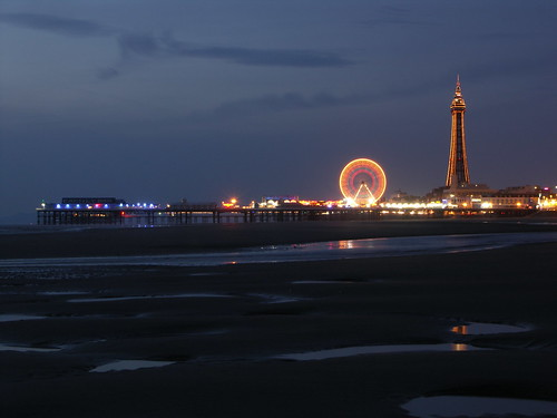 Blackpool Tower & Big Wheel Illuminations