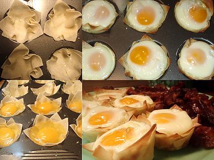 """Wanton"" Eggs, MyLastBite.com"