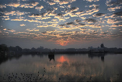""" THE SKY IN YOUR EYES "" (amish_patel) Tags: lake jamnagar thepca lakhota flickraward deranijethaninivav"