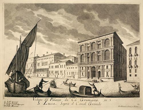 004- Vista del Palacio Grimani sobre el Canal Grande