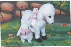 Ovelha - G41 (Moldes videocurso artesanato) Tags: ovelha g41
