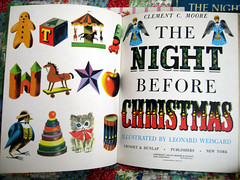 The Night Before Christmas (treasureup) Tags: leonardweisgard childrensbooks nightbeforechristmas vintageillustrations