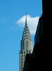 Chrysler Building (nikonman3) Tags: street new york city nyc newyorkcity travel sky urban usa ny newyork color colour building up vertical skyline architecture america photography nikon cityscape d70 d70s chryslerbuilding 1870 newyorkcityd70s