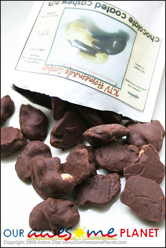 Chocolate Covered Cashews