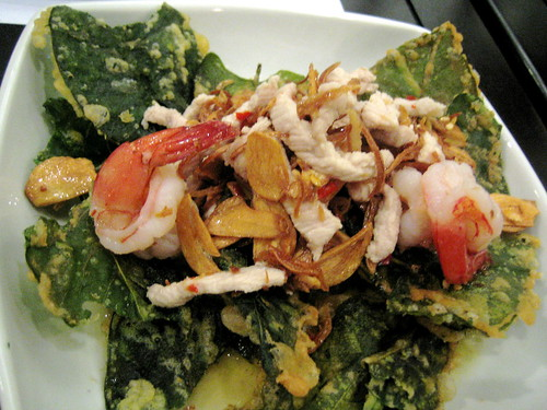 Crispy Morning Glory Salad