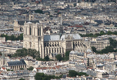 Notre Dame Cathedral (MathTeacherGuy) Tags: paris france rooftop church cathedral notredame elevated notre dame 75004 2007 toits