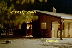seasons greetings (fair_handmaiden) Tags: snow barn mortonbarn