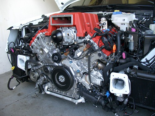 Supercharger - 560 HP