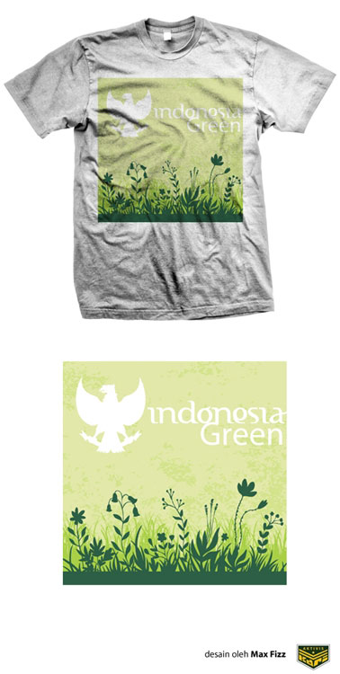Indonesiana-Green-White