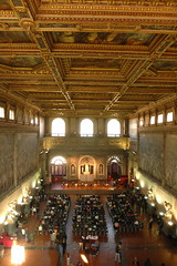 Il Salone dei Cinquacento in Palazzo Vecchio