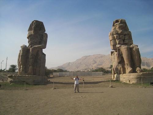 Big Statues - Luxor(?) Egypt 2008