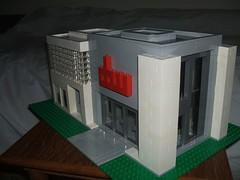 LEGOModern3 (Dragonov Brick Works) Tags: architecture lego moc studless miniscale