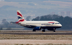 British Airways A319 G-EUPP (Andy_Mitchell_UK) Tags: scotland glasgow aircraft airbus ba britishairways gla a319 319 glasgowairport egpf geupp 319131 msn1295