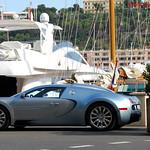 Bugatti Veyron on its own