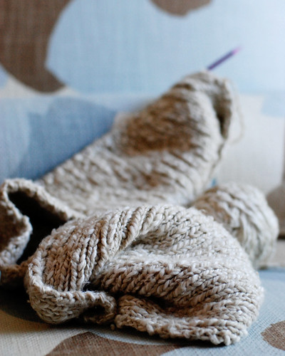 knitting project three 015