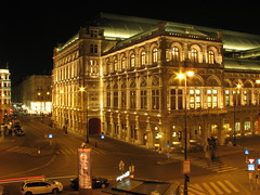 Wien - State Opera House - view from Augustinerbastei (bortescristian) Tags: wien christmas trip travel light house building by architecture night canon de is sterreich opera long exposure december state stat powershot viena 2008 s3 cristian ausztria decembrie autriche albertina lumini noaptea arhitectura cladire calatorii bortes bortescristian cristianbortes ustria augustinerbastei