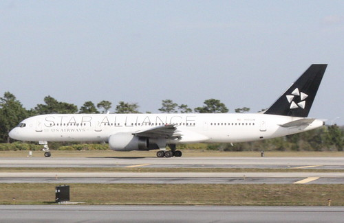 Star Alliance/US Airways 757-200