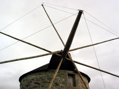 O moinho de cima
