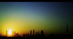 [ Good Morning ~ 2009 ^^, (.(PEaE).`.Q!s ^^,) Tags: morning sunrise happy moments dubai uae joyful 2009 jumairah
