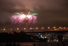 Skytower Feuerwerk