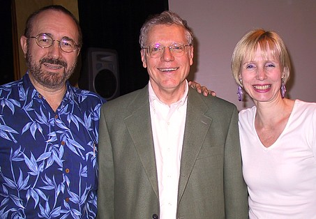 Robin and me with Dr. John Beebe