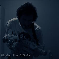 Aliens: Marine with heavy gun.- (nicoframes) Tags: aliens nerf colonialmarines machinegunsoftbullets