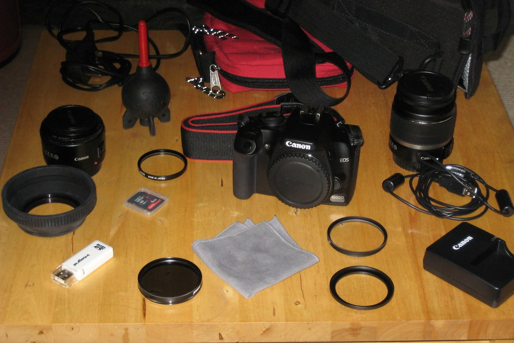 What's in my camera bag(s)