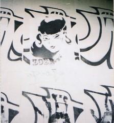 zoer (Visual Chaos) Tags: streetart sticker zoer sci longbeachgraffiti csulongbeachartdepartment csulongbeachlockerroom ladies suicidegirl cutegirl stencil woostercollective csulbartlockerroom zoerscicrew streetartgirls graffitigirls wheatpaste
