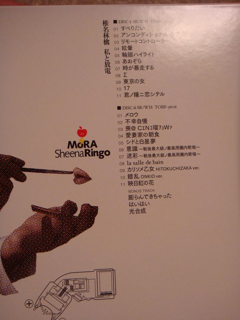 Watashi to Houden tracklist