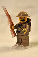 Tommy Supernatural Encounter (The Ranger of Awesomeness) Tags: lego tommy minifig smle leeenfield brickarms