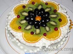 Фото торт фруктовый