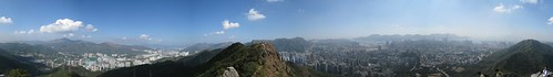 360° Panorama at Lion Rock, Hong Kong (2)