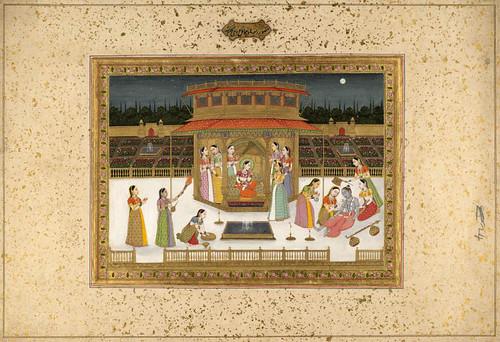 009--- Pintura india siglos XVIII- XIX