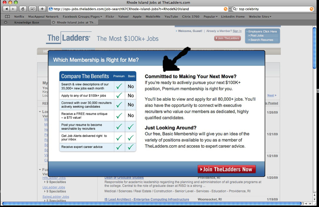 TheLadders.com TYPO