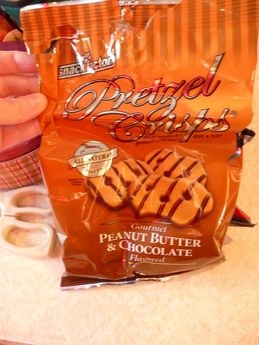 Very yummy pb pretzels