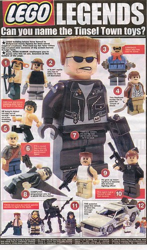 Custom minifigs appear in UK press