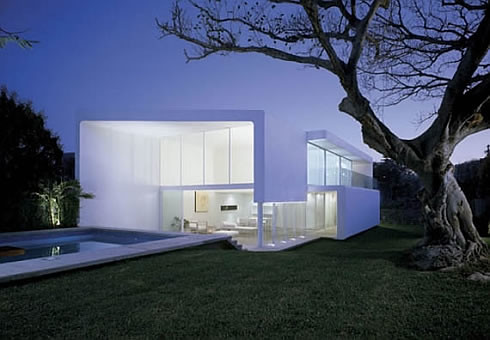 beautiful white house,modern,house,design