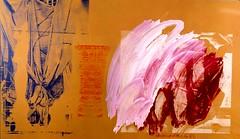 Rauschenberg, Robert - 1989 Golden Chalice (RasMarley) Tags: abstract contemporaryart american painter 1989 robertrauschenberg 20thcentury rauschenberg abstractexpressionism goldenchalice