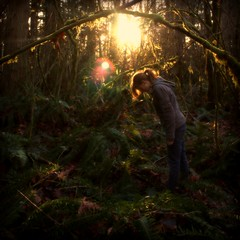 Tear it out of these open pages, (Megan Caros) Tags: sun sunlight fairytale forest war megan explore fantasy flare ferns awkward stance lean straylightrun esque bigshot handsinthesky explored meganalice