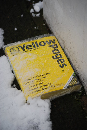 Don't eat the Yellow (Pages) Snow