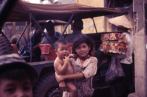 Children in the Village of Cu Chi 1966 by Mary Lemieux Hartl  by 7th Surgical Hospital (MA)  Vietnam