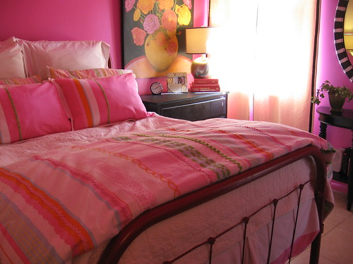 After-Pink Bedroom